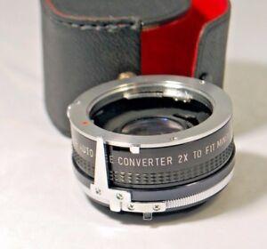 Soligor 2X Tele Converter Lens for Minolta MD (1407041) Worldwide