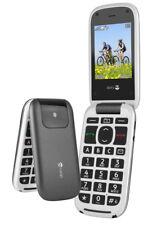 Doro PhoneEasy 613 Grau-Weiß 6,1cm (2,4 Zoll) LCD-TFT Display Klapphandy NEU OVP