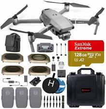 DJI Mavic 2 Pro Drone with Battery Smartree Hard Case 4 Filter 128GB SD Card