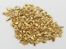 10 Pepitas De Oro Natural De Alaska Con Certificado 20-23Kt Pepita Gold Nugget