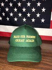 Make Our Farmers Great Again Hat Donald Trump America Snapback Baseball Cap USA