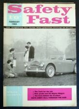 BMC SAFETY FAST MAGAZINE FEBRUARY 1965 VOL 7 NO 2.
