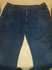 Mens Redhead lined warm denim blue jeans size 44 x 30