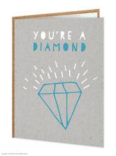 "Brainbox CANDY divertente umoristico ""DIAMOND"" BIRTHDAY GREETING Card Cheeky"