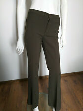 MOSCHINO JEANS women's green pants size UK8
