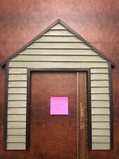 Doggy Door front face cover. Front looks like a dog house. Fits Small doors