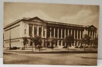 The Free Library of Philadelphia Logan Square 1932 Postcard A6