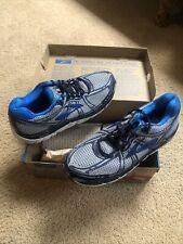 New Brooks Men's Addiction 11 Running Shoes Size 11.5 - Medium D Width Blue/Gray
