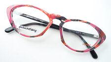 Menrad markenfassung Glasses Ladies Frame Pink Red Black Eye Form SizeM