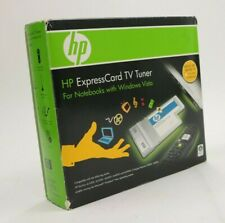 HP Express Card Digital Analog TV Tuner with Accessories