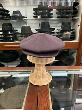 Borsalino Wool Newsboy Cap Made In Italy Size 62 XL