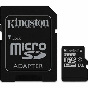KINGSTON Micro SDHC/Micro SDXC Class 10 UHS-I Memory Card Micro SD 32GB