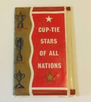 CUP TIE STARS OF ALL NATIONS COMPLETE SET (16 CARD) & WALLET FOOTBALL (MM94)