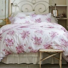 Rachel Ashwell Simply Shabby Chic BLUSH BOUQUET Rose Lilac Pink Duvet Set KING