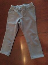 NWT 2T Garnet Hill Gray Pants Versatile Color Great Fit Pull on Design