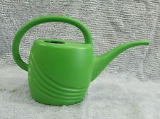 Misco Usa Home Garden Vintage Molded Green Plastic Plant Watering Can Free S/H