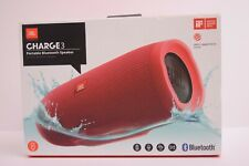 JBL Charge 3 Portable Bluetooth Speaker RED 6000mAh IPX7 Waterproof BRAND NEW