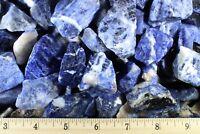 3 LB SODALITE Rough Rocks-Rock Tumbling-Bulk Sodalite-Tumbling Rough Sodalite
