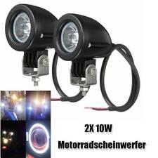 1 Paar Motorrad Scheinwerfer 2,2 Zoll Universal High Bright 6000-7500K
