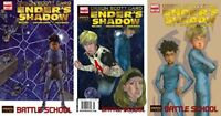 Enders Shadow Battle School #3-5 (2009) Marvel Comics - 3 Comics