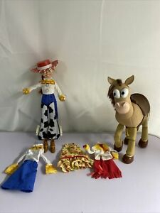 Toy Story lot of 2 Jessie and Bullseye VHTF Retired Action Figures Mattel