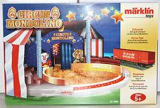 Märklin H0 78092 Ergänzungspackung Zirkuszelt aus Circus Mondolino Serie Neu