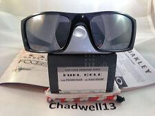 *NEW* OAKLEY FUEL CELL CHIP FOOSE Pol Black w/ BLACK Iridium Lens OO9096-66