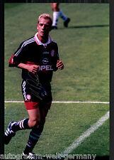 Mario Basler super grandi foto 20x30 cm il Bayern Monaco ORIG. Sign. +24