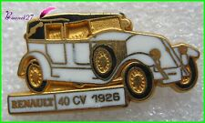 Pin's Collection Voiture RENAULT Car 40 CV 1926 #40