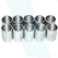 10 x 20mm Solid Galvanised Conduit Couplings / Coupler - BA10120G