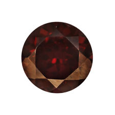 Natural Red Zircon From Madagascar Loose Gemstone of 5 mm AA Round