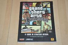 Guide de stratégie officiel pour GTA San Andreas - PS3 XBOX 360