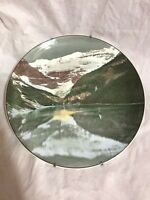 "Vintage Royal Doulton ""Lake Louise and Victoria Glacier"" Decorative Plate"