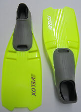 Velox Swimming Scuba Diving Snorkeling Full Foot Fins Yellow XXS 3-4  35/36