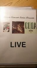 Dream Concert Series Presents: Led Zeppelin's Presence/In Thru /Coda LIVE on DVD
