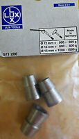 Lux Cuneo anulare Ø 12 + 13 + 15 mm LUXTOOL ricambio asce martelli mazzette new