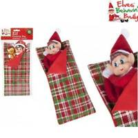 Naughty Elf Sleeping Bag Elves Behavin' Badly Christmas Shelf Accessories Prop