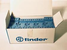 10 each Finder Socket 94.44.1SXA / 94.44.1 for 55/85 Series  700VAC 3A NOS NIB