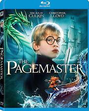 The Pagemaster (1994) Macaulay Culkin | New | Sealed | Blu-ray Region free