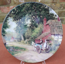 """Royal Grafton  """"A Ride in the Pony Cart""""  Plate"""