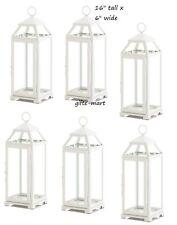 "8 lot White 16"" tall Candle holder Lantern malta lamp florist wedding decoration"