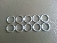 VW AUDI ALUMINUM OIL PLUG SEAL CRUSH WASHER SET N 013 815 7 SET OF 10 $9 SHIPPED