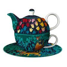 Rosina Wachtmeister Katzen Tea for One Teeset TULIPANI 16,5cm Goebel Porzellan