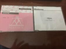 Madonna Amazing Rare German 1 Track Promo CD plus 4 minutes And American Pie!