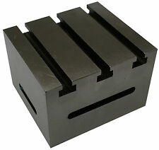 "Tee Slotted Box Angle Plate Cube 5"" x 4.1/2"" x 3.3/8"""
