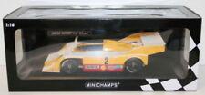 Modellini statici di auto da corsa sportive e turistiche gialli marca MINICHAMPS Scala 1:18
