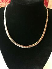 Vintage CORO Pegasus  Gold Tone Choker Thick Chain Necklace 16""