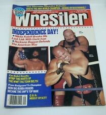 The Wrestler Vintage Magazine September 1987 Ivan Koloff, Nikita Koloff, Hacksaw