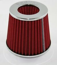 Redline EFI Air Pod Filter 114mm neck in Chrome- 16-507