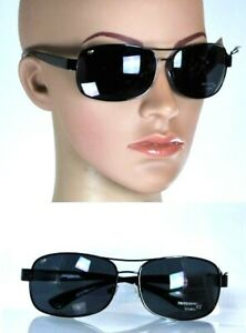 Occhiali da Sole Uomo/Donna MELANIN Protezione Melanina 100% UV Lenti Scure D945